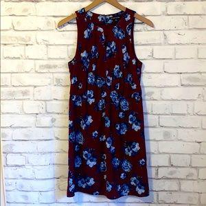 NWOT 41 Hawthorn burgundy floral dress
